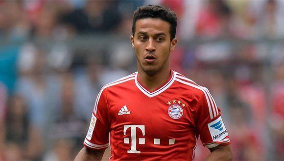 Thiago Alcántara. Foto tomada de Sky Sports.