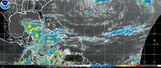 Instituto de Meteorología reporta numerosas lluvias en todo el archipiélago cubano