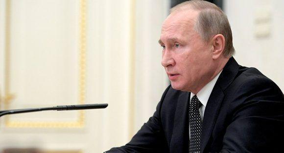 Vladimir Putin. Foto tomada de Sputnik.