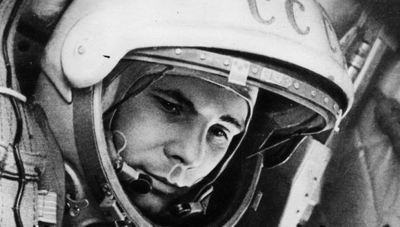 Yuri Gagarin. Foto tomada de elcomunista.net.