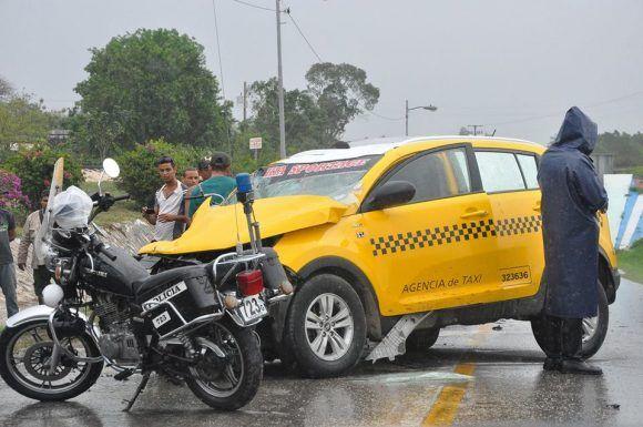 Accidente en Granma. Foto: Rafael Martínez Arias / Periódico La Demajagua