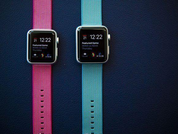 Apple podría desarrollar sensores para medir los niveles de glucosa sin pinchar la piel. De conseguir este objetivo, podría comercializarlo a través de sus relojes. Foto: Apple.