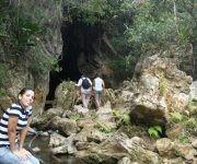 La meta surgió por el camino: era el momento perfecto para conquistar el resolladero de la Cueva El Altar