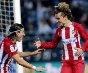 El Atlético de Madrid ha derrotado al Málaga a domicilio por 0-2, con goles de Koke Resurrección y el brasileño Filipe Luis.