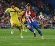 Griezmann no pudo hacer de las suyas ante el Villarreal. Foto: @ChampionsLeague/ Twitter.