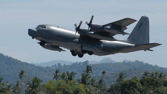 MC-130 similar al que ha lanzado la bomba. Foto: Wikimedia.
