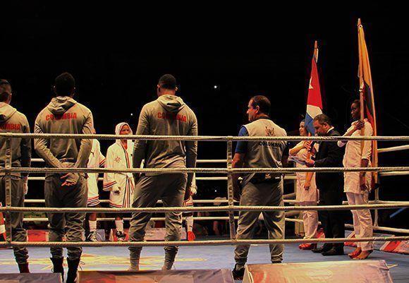 Domadores de Cuba vencieron a Heroicos de Colombia, en el último encuentro de la fase de grupos de la VII Serie Mundial de boxeo. Foto: Cinthya García Casañas/ Cubadebate.