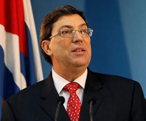 Ministro de Relaciones Exteriores de Cuba, Bruno Rodríguez Parrilla. Foto: MINREX.
