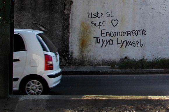 Usted, definitivamente, con algunos errores supo conquistar a otra persona. Foto: Cinthya García Casañas/ Cubadebate.
