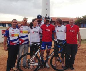 Ciclista austriaco comenzó recorrido por Cuba