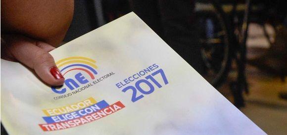 Mañana, 12 millones 816 mil 698 ciudadanos de esta nación sudamericana están llamados a elegir en las urnas a su próximo presidente y vicepresidente, entre los binomios Lenín Moreno-Jorge Glas (Alianza PAIS) y Guillermo Lasso-Andrés Páez (CREO-SUMA).