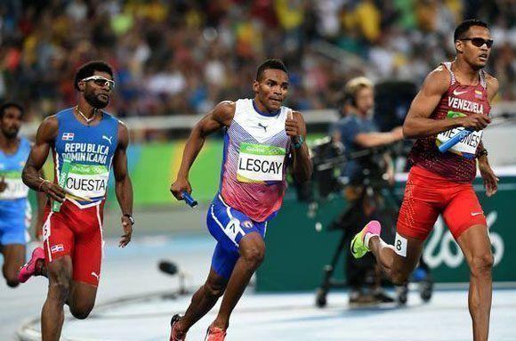 Cuba finaliza quinta en 4x400 del Mundial de Relevos. Foto: Ricardo López Hevia/ Archivo.