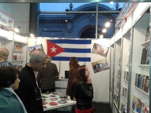 Feria del Libro en Buenos Aires. Foto: Orestes Pérez Pérez/ Cubadebate.