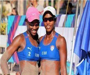Cubanos ganan primera fase del Circuito Norrceca de Voleibol de Playa