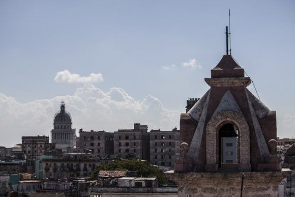 Desde la Catedral. Foto: L Eduardo Domínguez/ Cubadebate.
