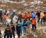 Deslizamiento de tierra ocurrido en diciembre de 2014. | Foto: EFE / Archivo.