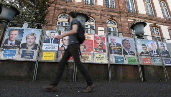 El terrorismo marca las últimas jornadas electorales en Francia. Foto: AFP.