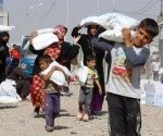 Combates en oeste de Mosul desplazan a 280 mil iraquíes, ONU.