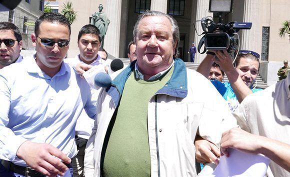 El ex alcalde de Providencia es acusado de ser el autor de torturas en Panguipulli a fines de 1973. Foto: La Tercera.