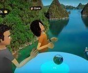 """Facebook lanza la platoforma """"Sapces"""" para ampliarse a la realidad virtual. Foto: Oculus/ Youtube."""