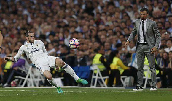 Bale se fue lesionado en el primer tiempo. Foto: AP.