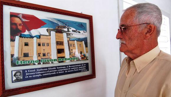 Guillermo Elizalde Sotolongo, Asaltante del Cuartel Moncada en entrevista con Juventud Rebelde. Foto: Raúl Pupo/ Juventud Rebelde.