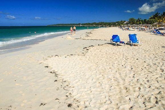 Fotografía de archivo de Playa Esmeralda, ubicada en el municipio de Banes, provincia de Holguín, Cuba. ACN FOTO/Juan Pablo CARRERAS