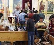 Ambos atentados habrían sido perpetrados por terroristas suicidas. Foto: AFP.