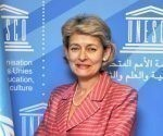 Irina Bokova de visita en Cuba. Foto: UNESCO.