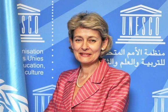 Irina Bokova visitará Cuba a partir de este viernes 28 de abril. Foto: UNESCO.