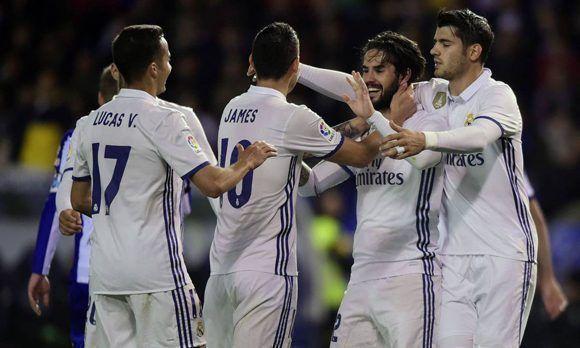 Isco lidera a los suplentes del Real Madrid en victoria 2-6 sobre el ... 82f71cfcab27f