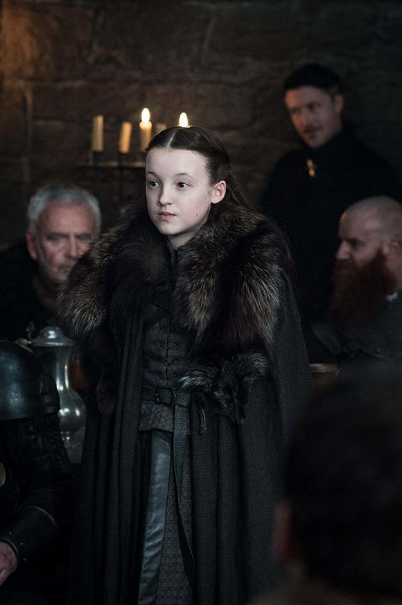 """""""La pequeña osa"""", Lyanna Mormont conquistó a los seguidores de Juego de Tronos en la sexta temporada y al parecer continuará siendo un apoyo clave para Jon en la séptima. Foto: HBO."""
