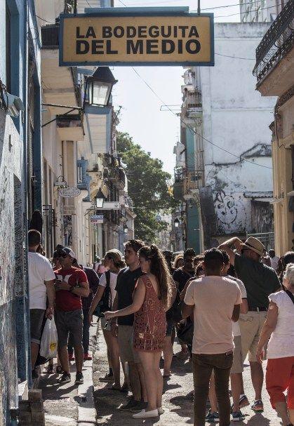 La Bodeguita del Medio. Foto: L Eduardo Domínguez/ Cubadebate.