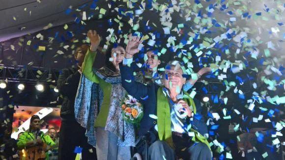 Lenín Moreno es el virtual ganador de las elecciones en Ecuador, falta menos del 10% de las boletas por contar. Foto: Cuenta oficial de Lenín Moreno en Twitter.