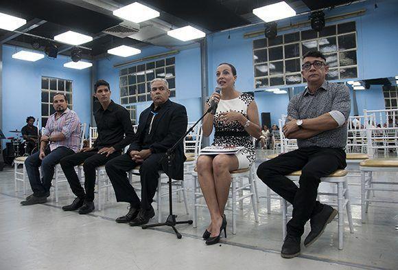 Intercambio con la prensa. Foto: Irene Pérez/ Cubadebate.