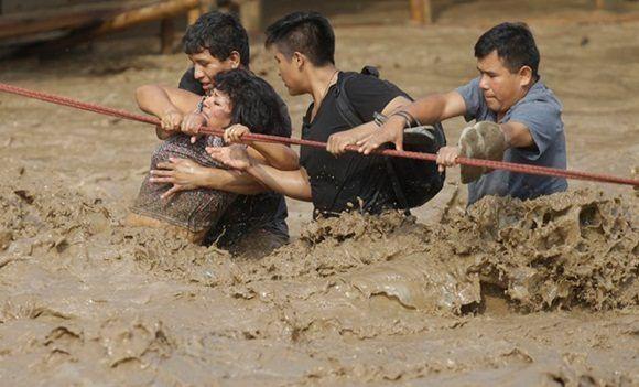 Inundaciones en Perú (AP Foto/MartÌn MejÌa)