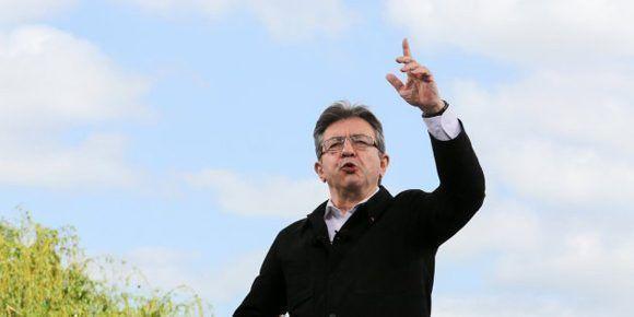 Jean-Luc Melenchon, aspirante a presidente francés. Foto: EFE.