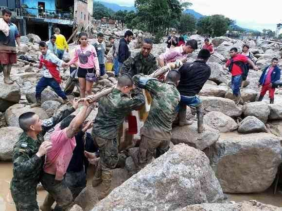 Mocoa vive un infierno tras la avalancha. Foto: Revista Semana.
