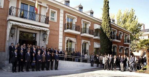 Palacio de la Moncloa .- EFE