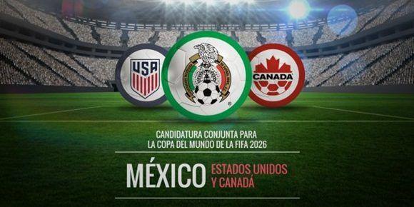 En un hecho sin precedentes, las federaciones de fútbol de México, Estados Unidos y Canadá anunciaron su intención de unir fuerzas para albergar el Mundial de Fútbol en 2026.