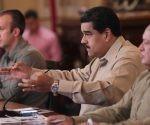 """Maduro afirmó en televisión: """"habrá paz con revolución, sino no habrá paz, ni en Venezuela ni en América Latina"""". Foto: AFP."""