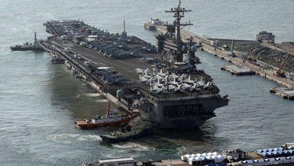 EE.UU. y Corea del Sur inician maniobras militares.