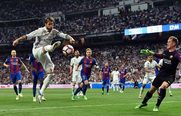 En el gol del 1-0 Sergio Ramos tiró al palo y Casemiro mandó el aa21b8a200815