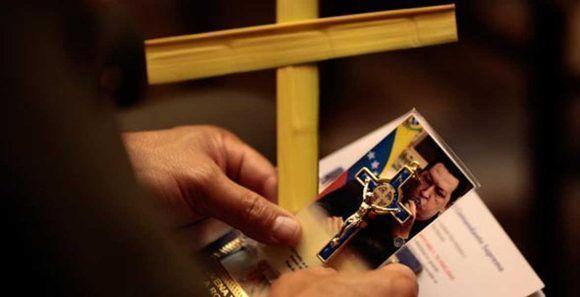 La patria venezolana, recuerda su propia resurrección, la resurrección del Cristo Pueblo, que marca la nueva historia de Venezuela. Foto: Archivo.
