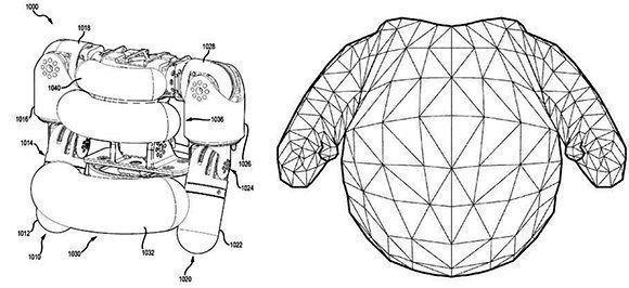 Prototipos de los robots de Disney
