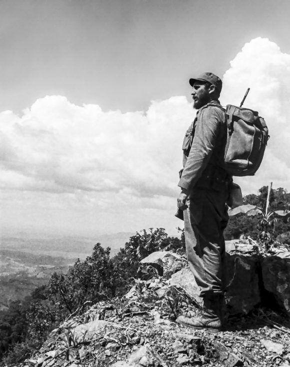 """""""Comandante en Jefe ¡Ordene!"""" (1962). Foto: Alberto Korda."""