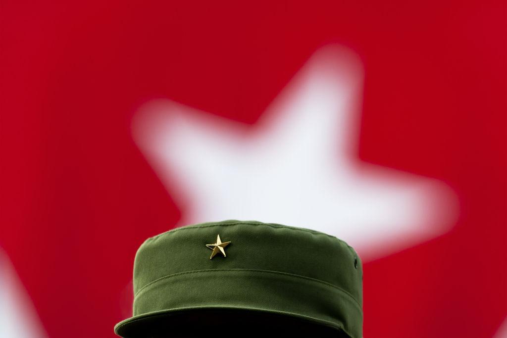 """La estrella de Fidel"". Foto: Roberto Chile."