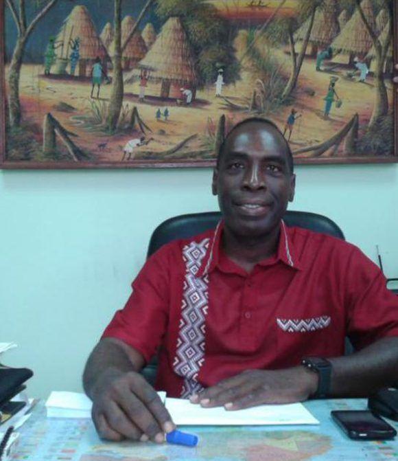Angel Villa Hernández, Director de Africa Subsahariana del Ministerio de Relaciones Exteriores de Cuba. Foto: CubaMinrex.