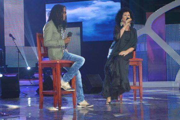 Premios Cubadisco 2017. Beatriz Márquez y Raúl Torres. Foto: Marianela Dufflar / Cubadebate