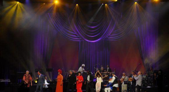 Inolvidable concierto de jazz en La Habana este 30 de abril de 2017. Foto: AFP